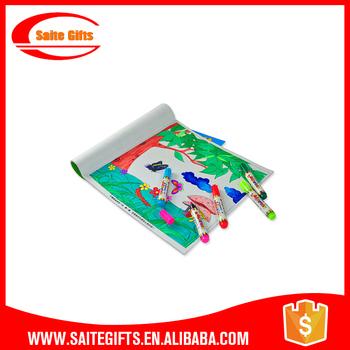 Promocional Educationa Papel Color Pintura Libro Para Colorear Para ...