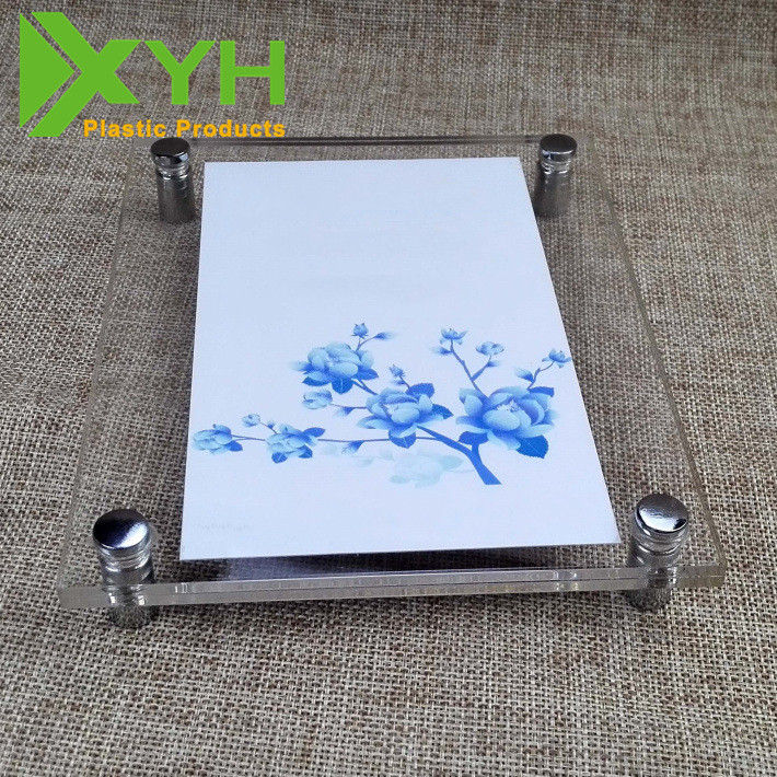 Acrylic Wall Mount Picture Frames, Wall Hanging Photo Frame