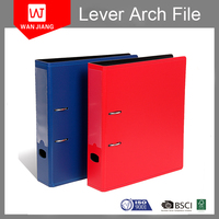 Eco-friendly PVC PP box Lever arch file folder with high quality