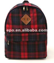 2012 very cute canvas school bag for little kids