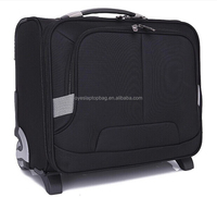 black color business wheeled business cases & business bags on wheels