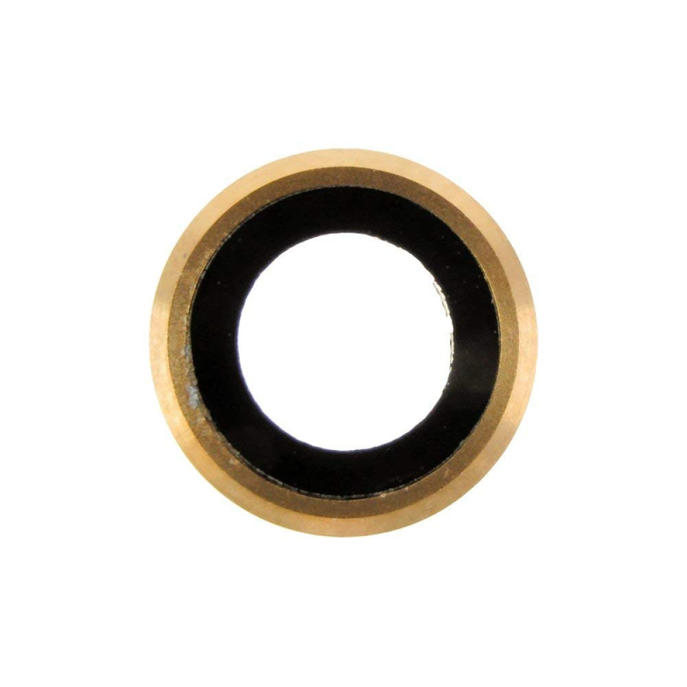 Camera Lens (Rear) for Apple iPhone 6 (CDMA & GSM) (Gold) with Glue Card