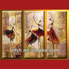 Abstract Ballet Oil Painting Home Decor, Free Art Supply Samples