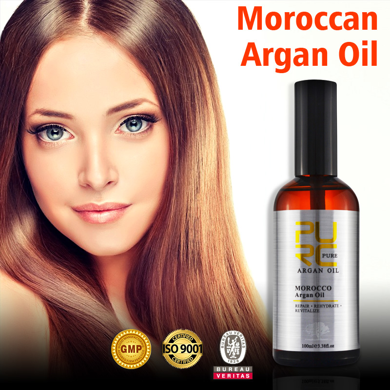 Argan oil hair treatment organic ingredient face and body and use make skin and hair smooth
