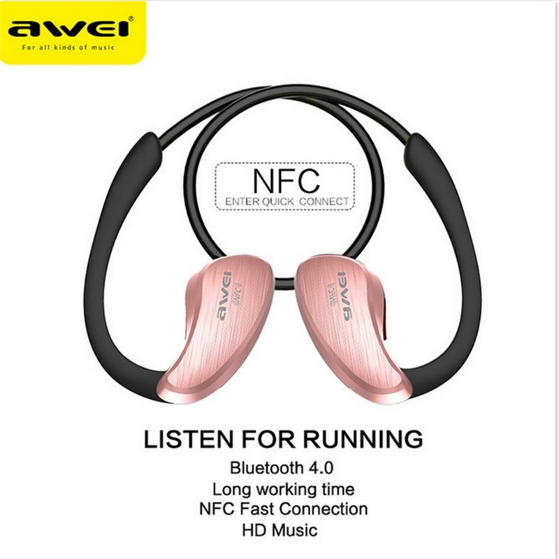 Awei A885BL Wireless Mini Headset Bluetooth 4.1 sport waterproof Headphone for iPhone Android mobile phone