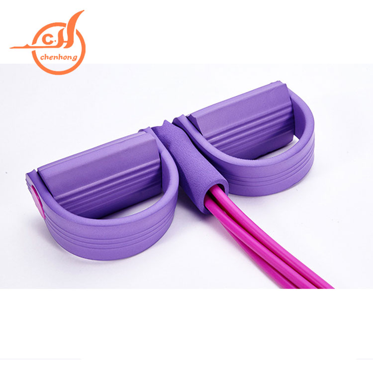 Factory sale widely top sale workout yoga resistance tube handles