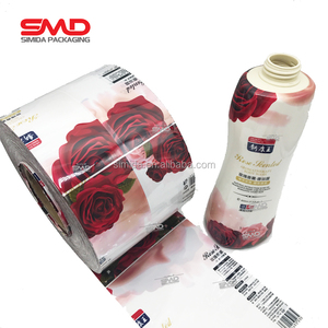 label roll printed PET PVC Shrink sleeve film