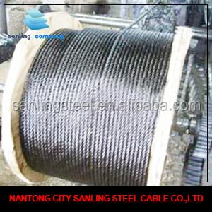 8*19W+IWR Elevator Steel Wire Rope