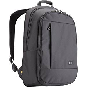 """Case Logic 15.6"""" Laptop + Tablet Backpack - Notebook Carrying Backpack - 15.6"""" - Gray """"Product Type: Supplies & Accessories/Notebook Carrying Cases"""""""