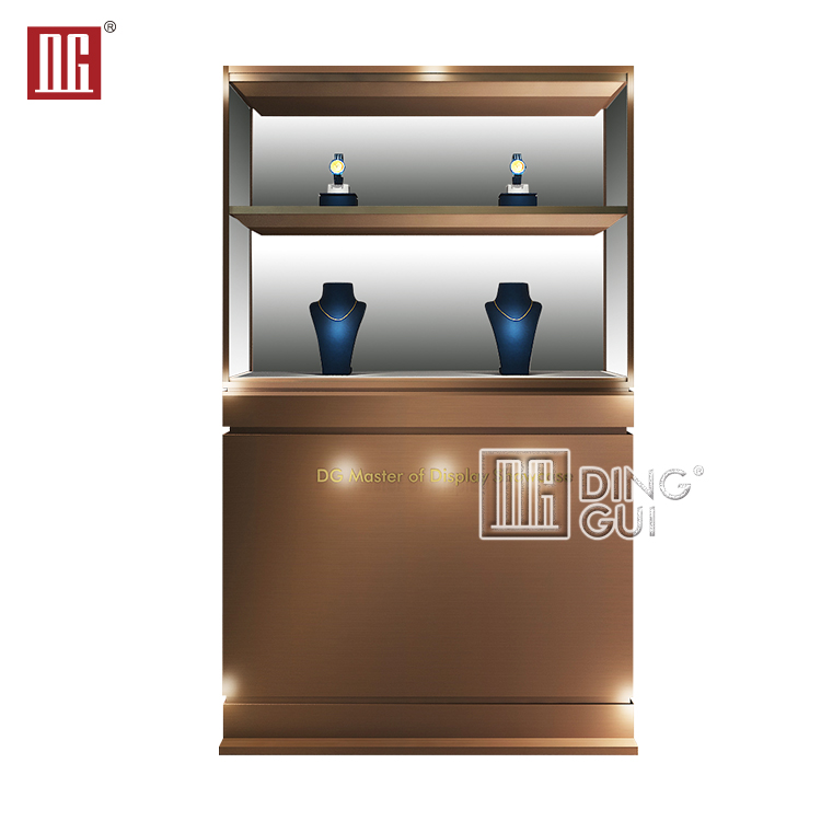 Unique Design Jewelry Retail Store Display Counter Furniture