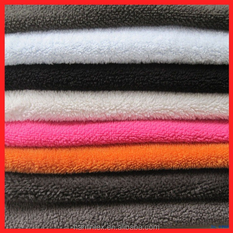 New Style Kind Of Color Lining Micro Polar Fleece Fabric