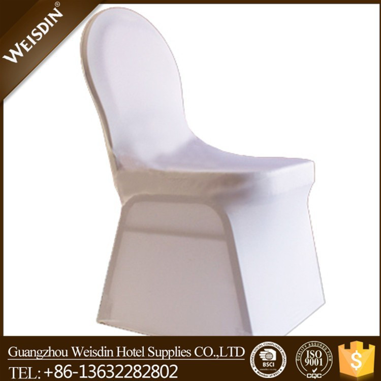 100% polyester white chiavari spandex stretch chair cover,chair covers 1.00