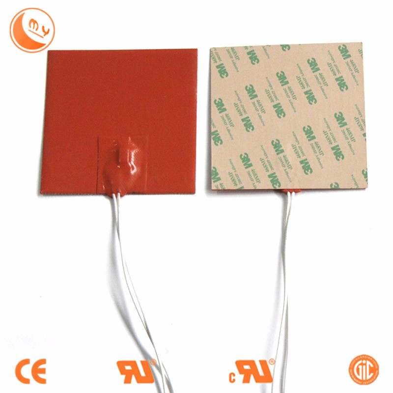 Flexible Silicone Band Heater With Cable Flat Solar Air