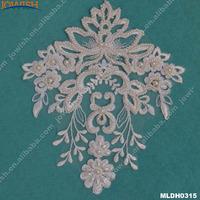 Wholesale Flowers Wedding Dress DIY Vestidos Neck Handmade Collar/Veils Appliques