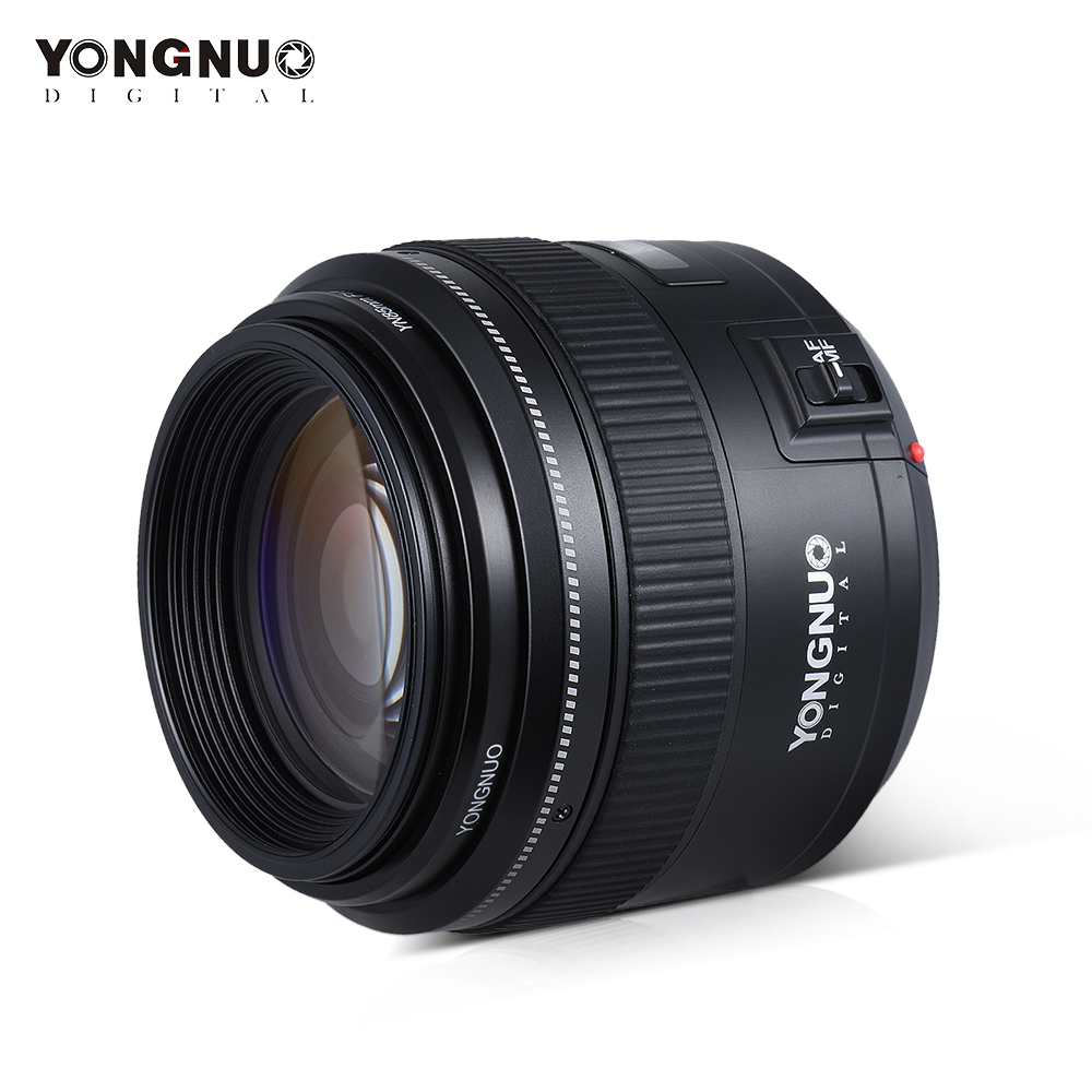 YONGNUO YN85mm F1.8 Camera Lens voor Canon Ef EOS 85mm AF/MF Standaard Medium Telelenzen Vaste focal Camera Lens