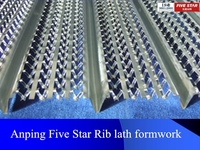 2016 High Quality Galvanized Ribbed Metal Lath For Building