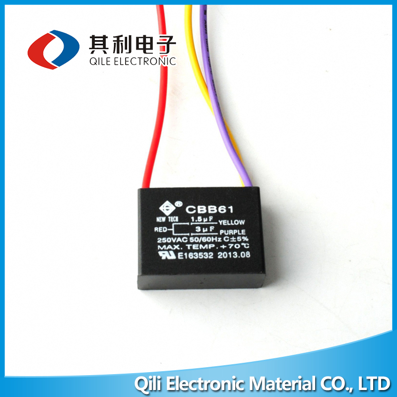 Widely use bm cbb61 motor capacitor for sale
