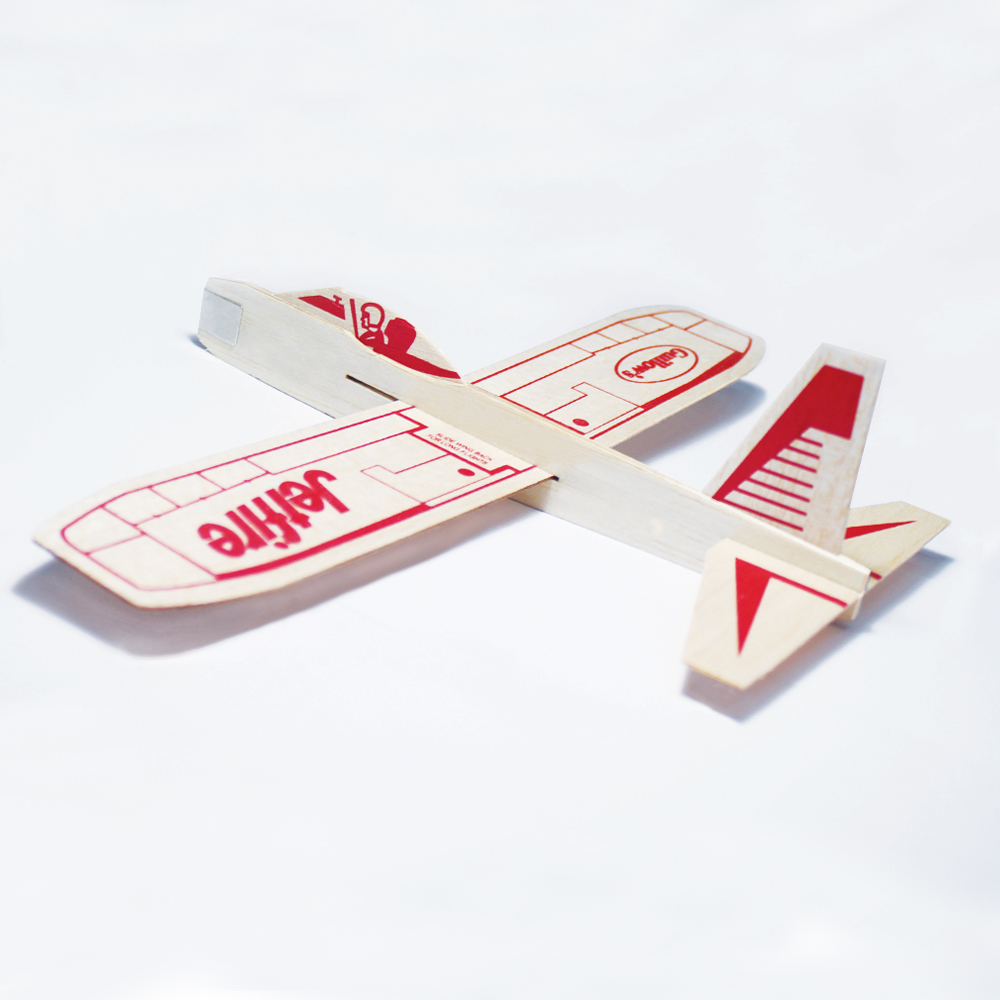 China Supplier New Design Laser Cut Balsa Wood Gliders