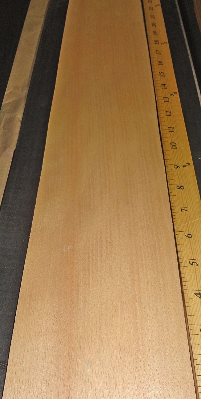 "x 250/' ROLL 5//8/"" to 2/"" STEAMED BEECH WOOD VENEER EDGEBANDING PREGLUED 7//8/"" Size"