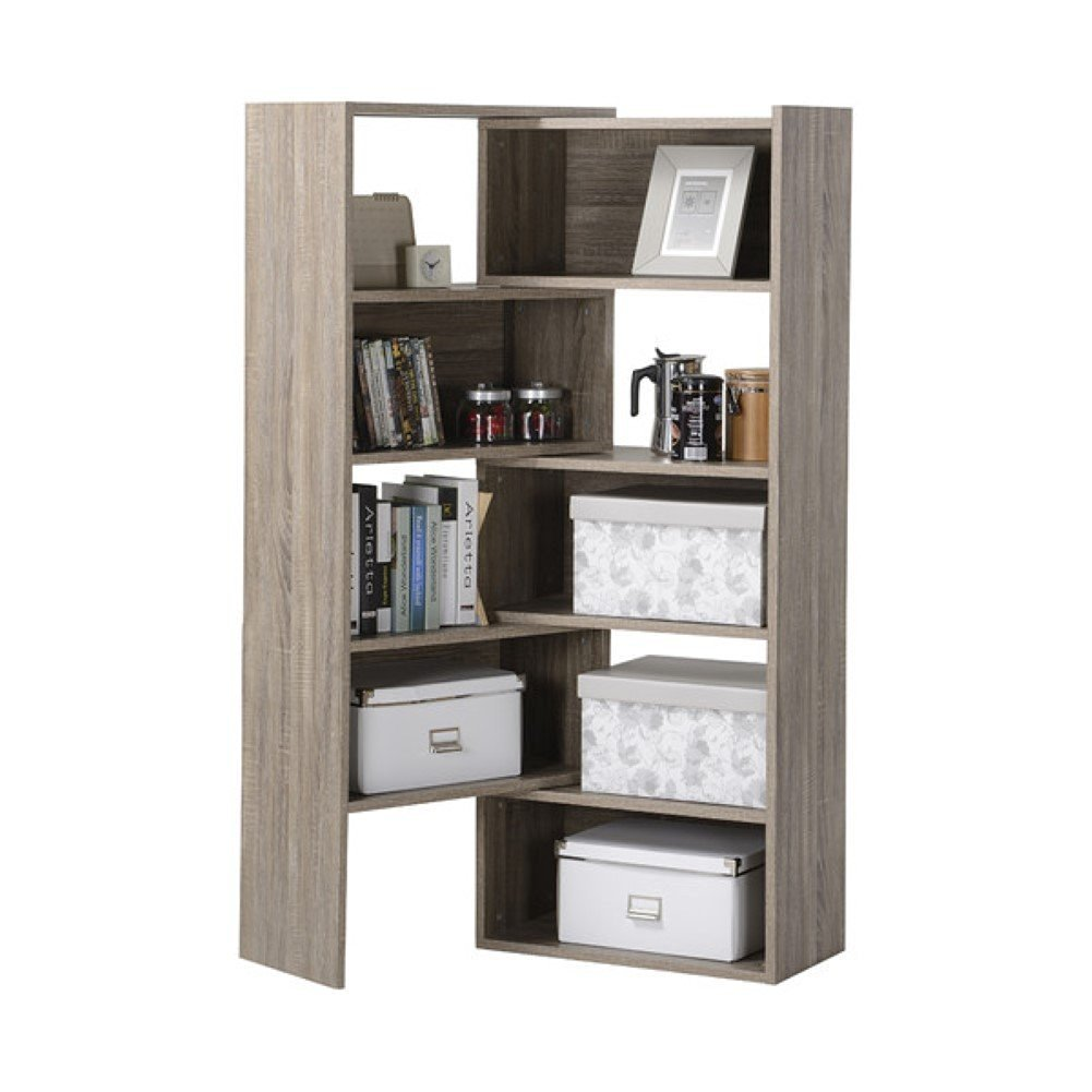 Get Quotations Shelving Console 58 71 Corner Unit Storage Cabinet Reclaimed Wood