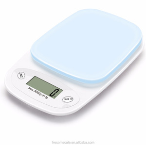 best digital color mini kitchen food weighing scale coffee scale 5 kg with bowl electronic kitchen scale high precision