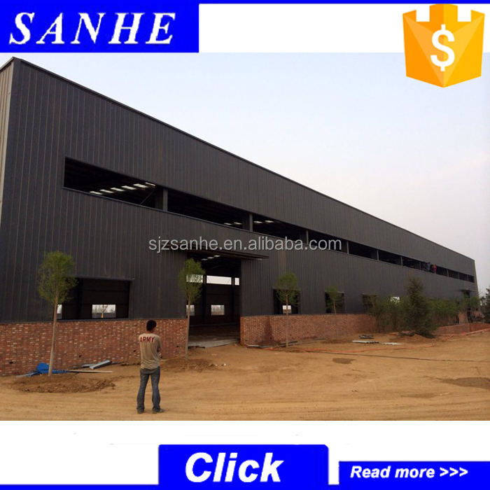 low cost industrial shed designs / prefabricated storage warehouse