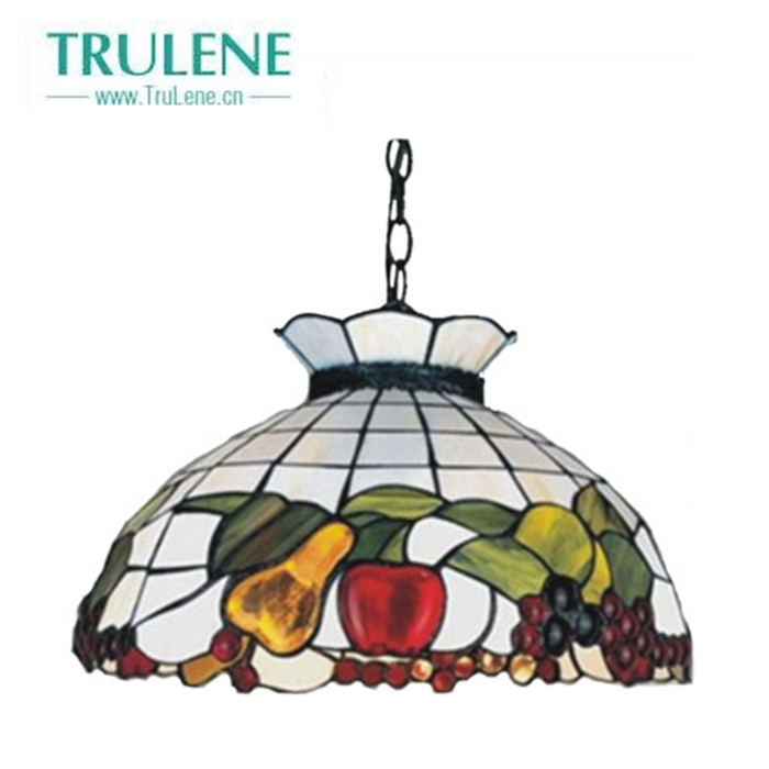 Hand made Europe Retro Decorative stained glass Ceiling Tiffany lamp