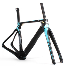 2017 Most popular 700C Carbon T900 Frame&Fork&Seat Post road bicycle carbon frame aero road bike carbon fiber frame