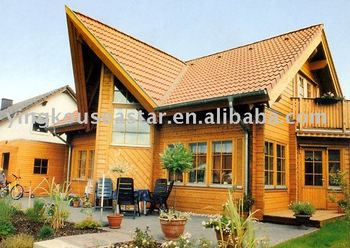 Good Small Wooden House Price Design SSW LOG 042