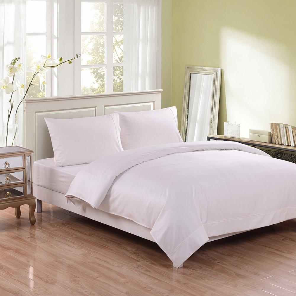 100 Bamboo Fiber 2016 White Organic Bamboo Bed Sheet Sets