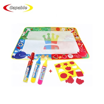 Kids large size aqua magic water doodle drawing mat