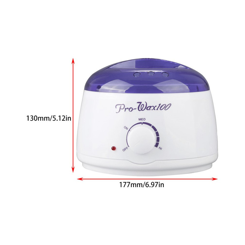 Pro Depilatory Mini SPA Hands Feet Wax Machine 500ML Women's Hair Remover Paraffin Warmer Heater