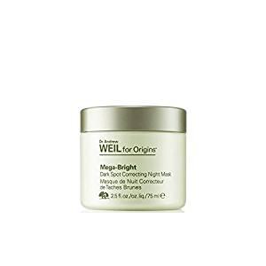 Origins Dr. Andrew Weil For Origins Mega-Bright Skin Tone Correcting Overnight Mask 75ml (Pack of 2)