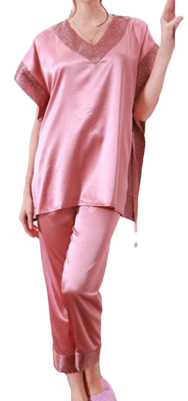 Etecredpow Mens Checkered Nightwear Cotton Relaxed Fit 2 Pcs Homewear Pajama Set