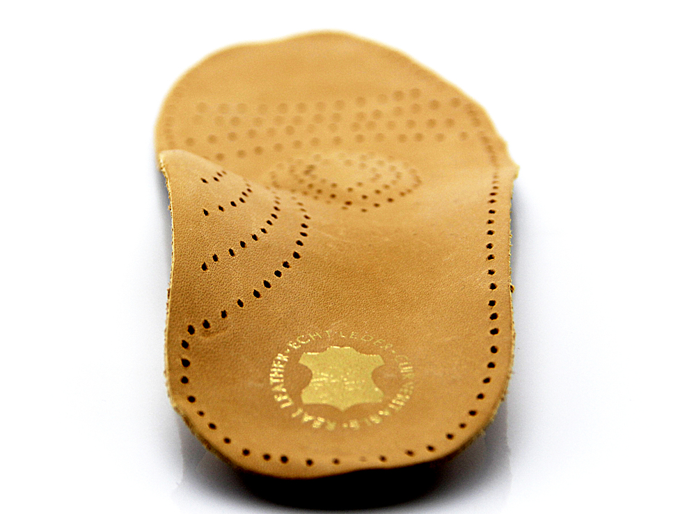 latex orthotic posture control flat foot insole genuine leather shoes insoles