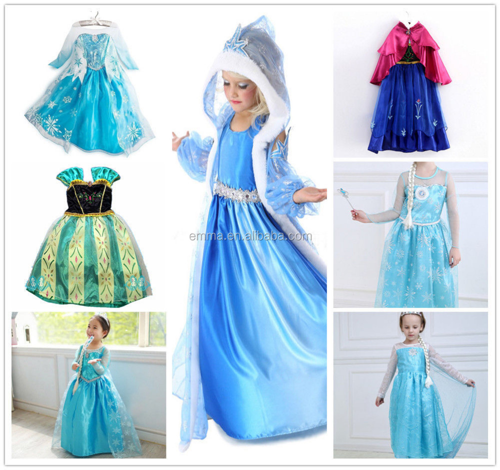 0063a23023888 Wholesale Halloween Fancy Dress Frozen Children Elsa Dress With Cape Bc8248  - Buy Halloween Costume,Elsa Dress,Frozen Elsa Dress Wholesale Product on  ...