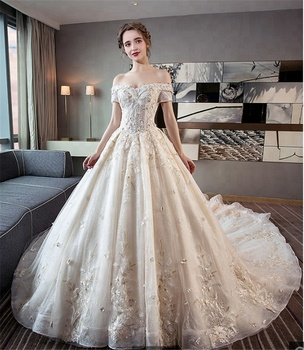 31a1a6a03c65 Plus Size New Design Princess Low Cost Wedding Gown Bridal Dress Wedding  Dress