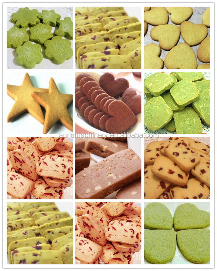 Professionele cookies deeg extruder machine cookies biscuit maken vormmachine