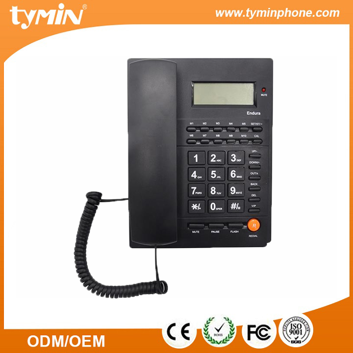 china top ten selling products corded analog telephones names brand of telephone