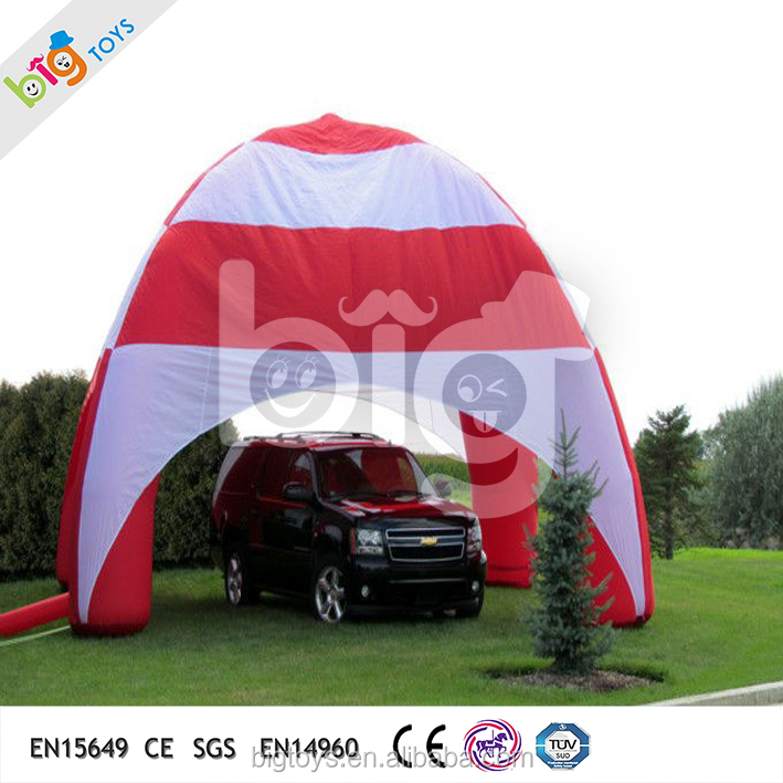 New Products Colorful Inflatable Dome Tent , Arch Lawn Tent For Sale