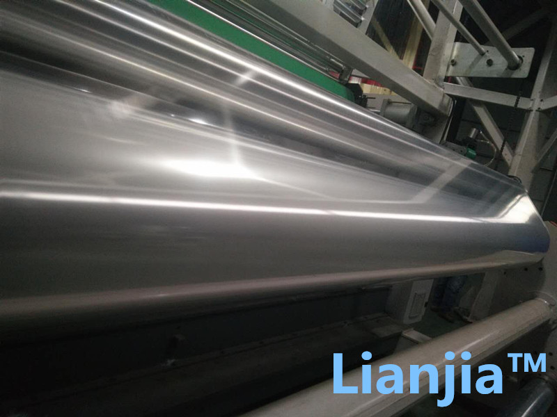 Standard Anti fog type China factory supplier polyolefin POF shrink film roll with economy price