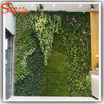 Jardin Vertical Mur Vert Artificielle Nouveau Produit Faux Mur ...