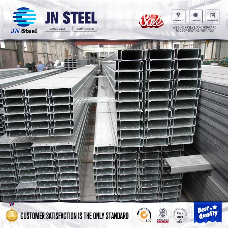 C channel bracket galvanized steel purlin