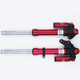200Mm Red Shock Absorber Used For Minibike Go Kart Motorcycle