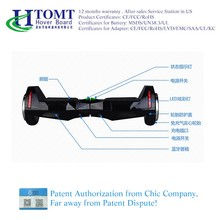 Htomt Portable two Wheels Self Balancing Foot Scooter with Hands Free