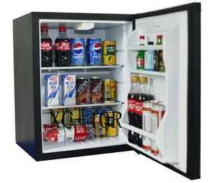 Upright Desktop Colored Clear Gas Battery Powered Mini Fridge