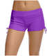 Sports Wear Women Gym Mini Shorts with Adjustable Ties