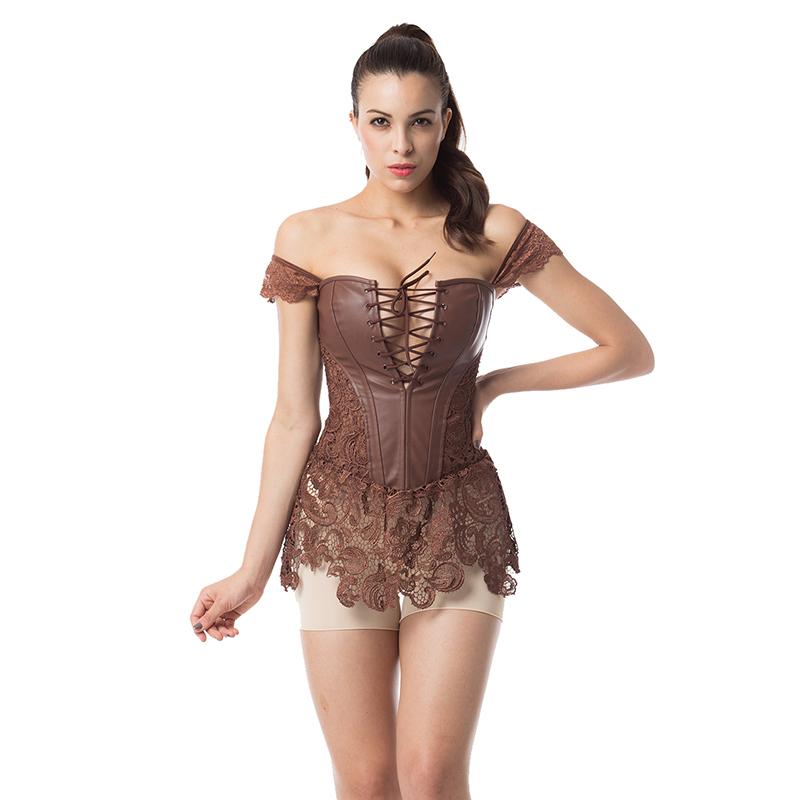 Сексуальное платье корсеты