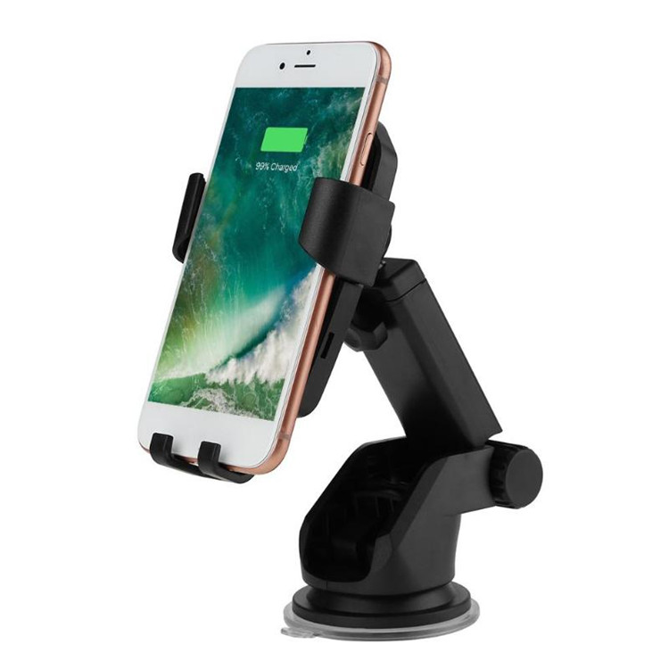 XINBEST K81 Gravity Wireless Car Charger Fast Charging 10W Cel Phone Holder Mount