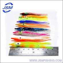Chinese Soft Colorful Plastic Fishing Octopus Skirt Lures/Baits, A Professional Fishing Tackle/Equipment Manufacturers